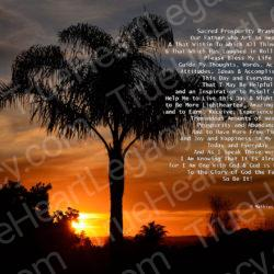 Palm-Tree-Sunset-signed-Sacred-Prosperity-Prayer